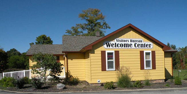 Directions to visitors bureau discover henry county indiana for Bureau center